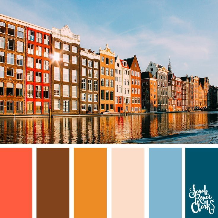Waterfront colors