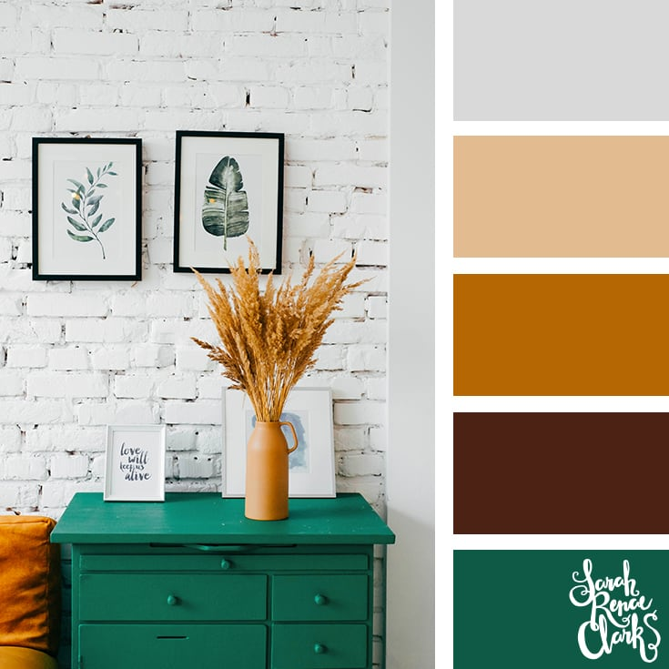 Interior design color inspiration