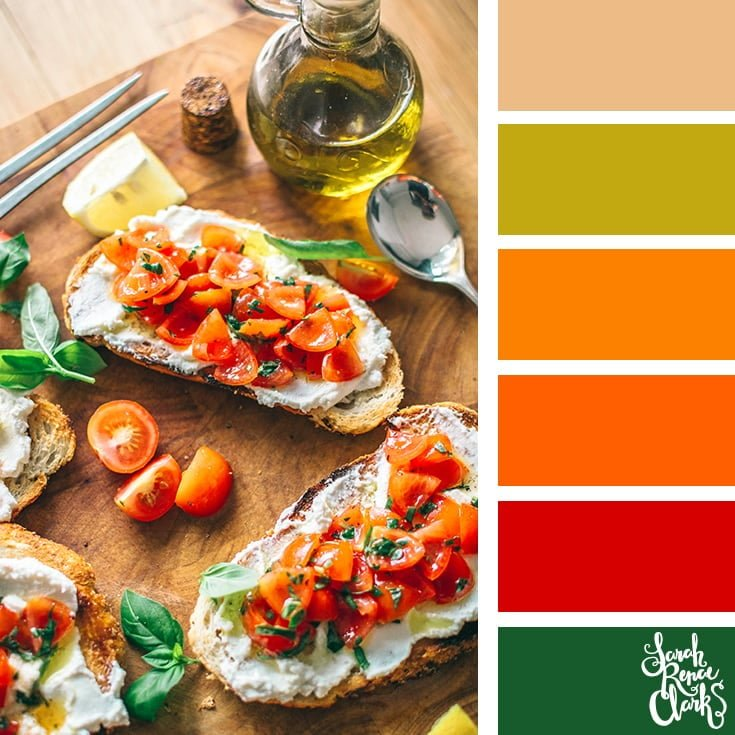 Bruschetta colors
