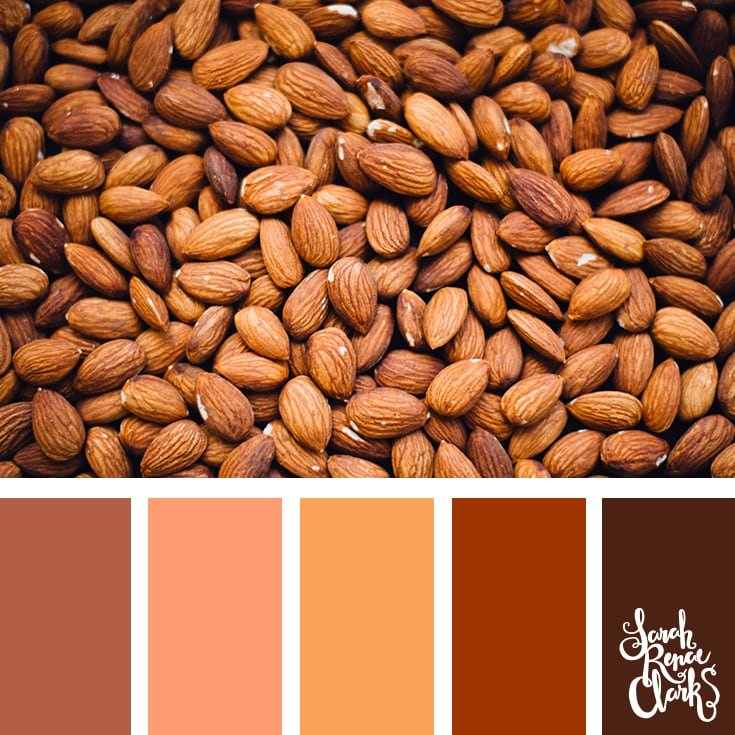 Almond color inspo