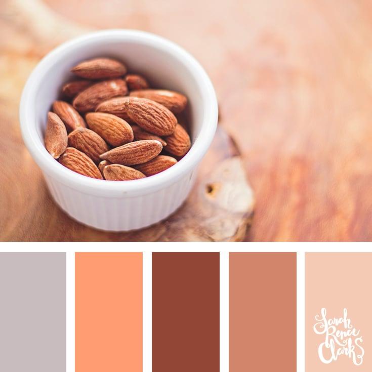 Almond hues
