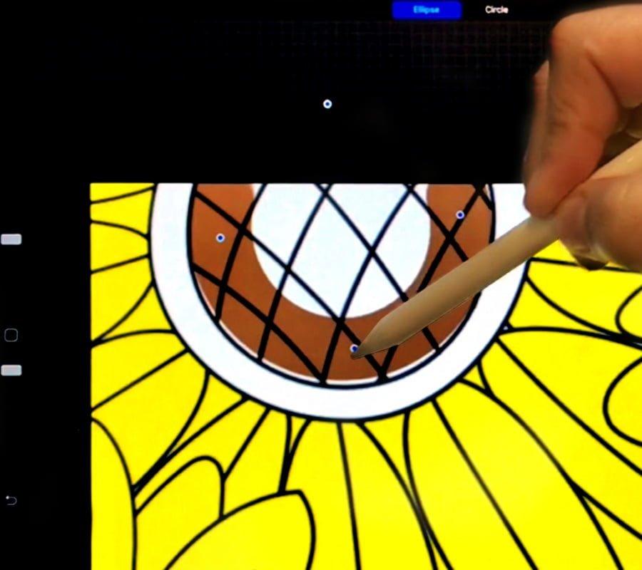 Procreate coloring tutorial