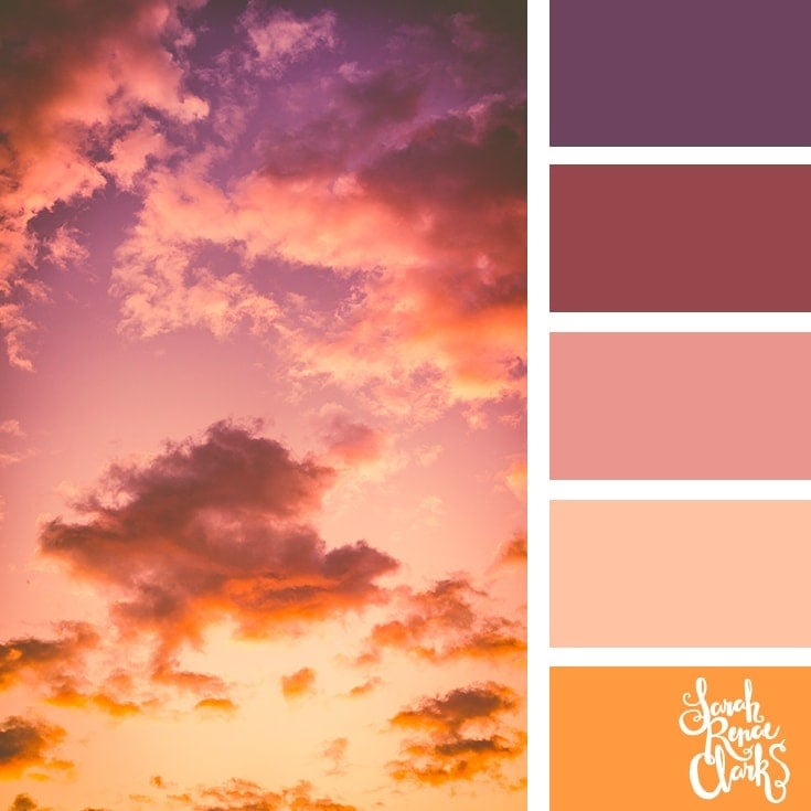 Color Palette 354 - Vintage Sunset