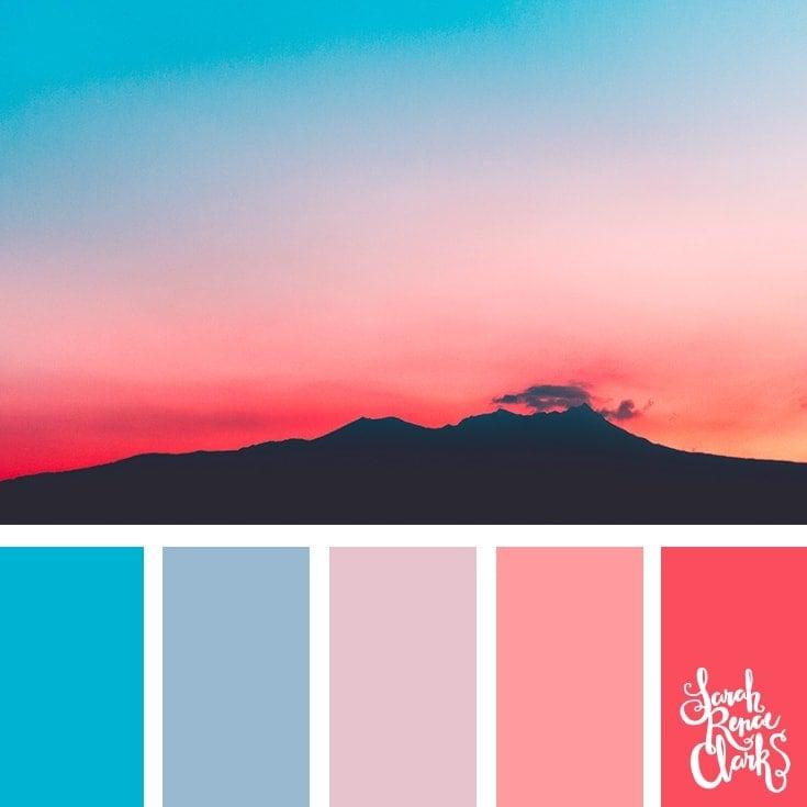 Color Palette 356 - Pastel Sunset