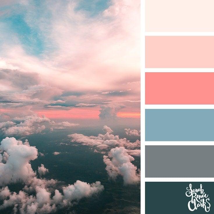Color Palette 361 - Pink Sunset