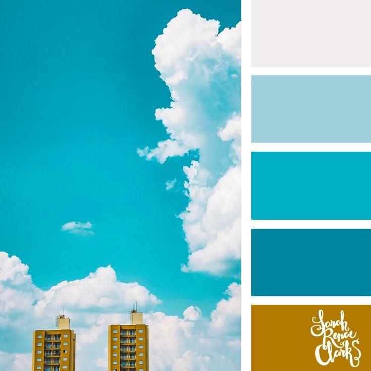 Color Palette 363 - Blue Sky