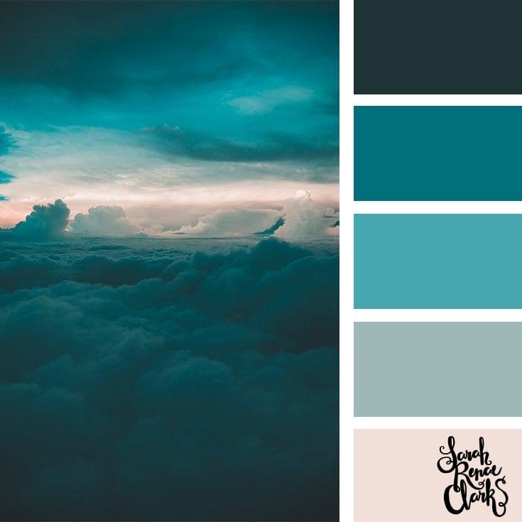Color Palette 365 - Teal Sky