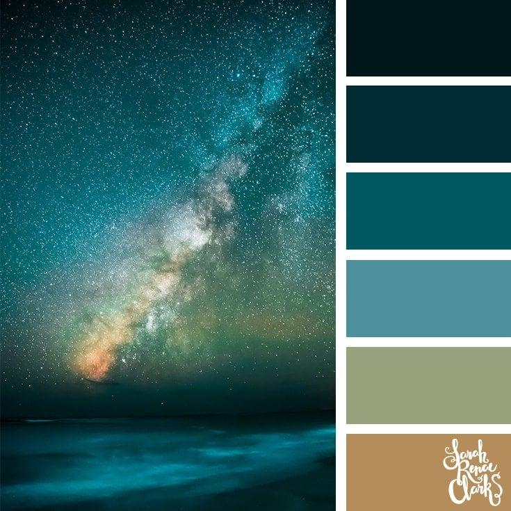 Color Palette 372 - Starry Sky