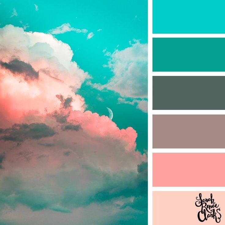 Color Palette 374 - Pastel Sky