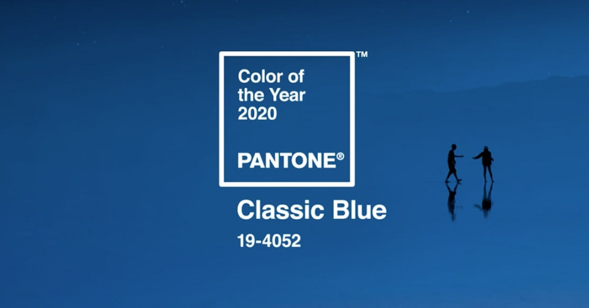 Pantone 2020 Classic Blue (Color of the Year)