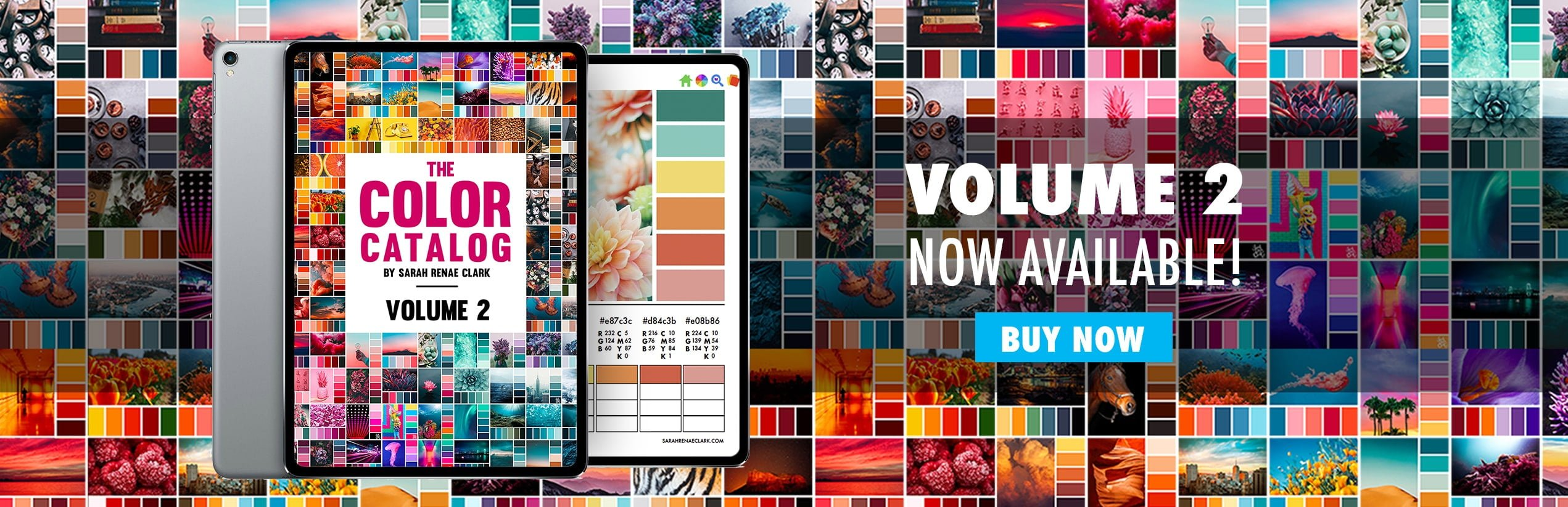 The Color Catalog Volume 2 - 250 color palettes