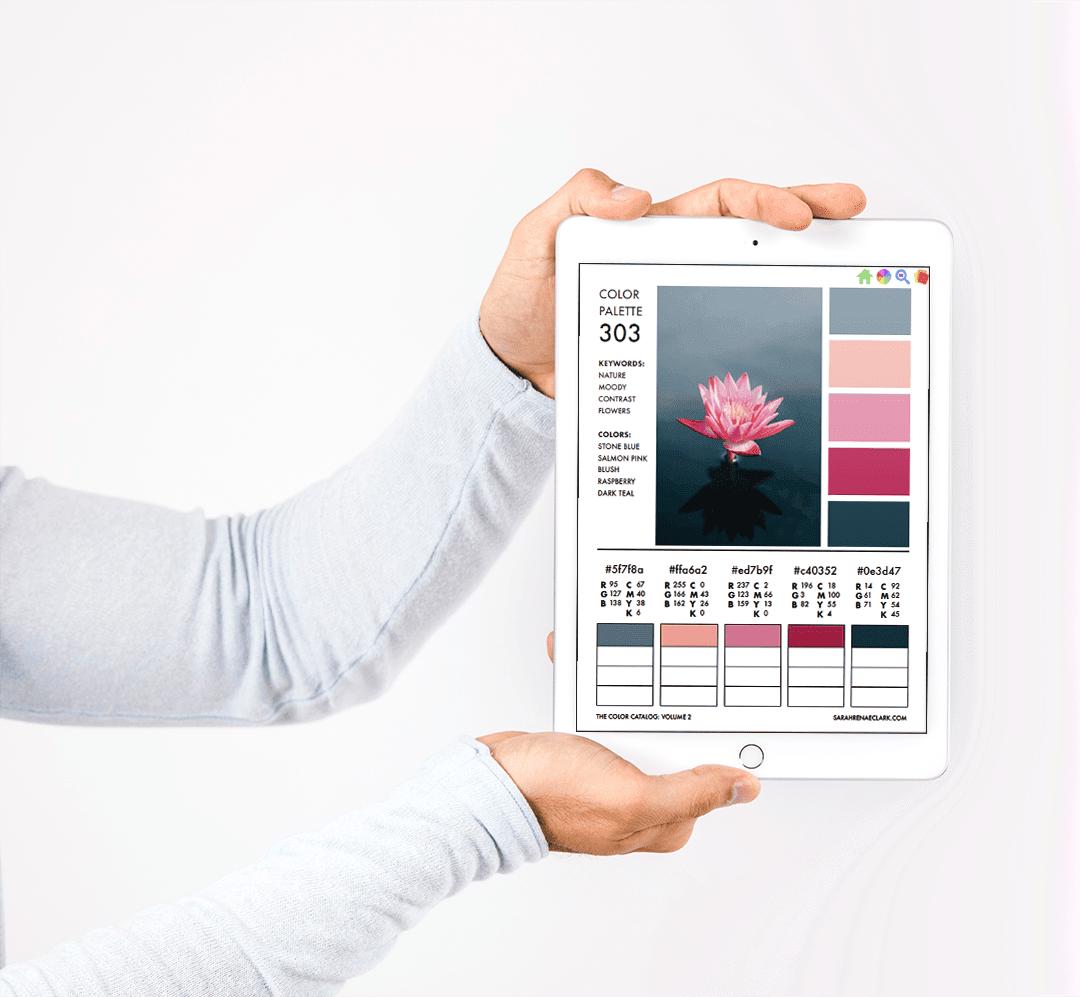 Look inside The Color Catalog - color palette ebook