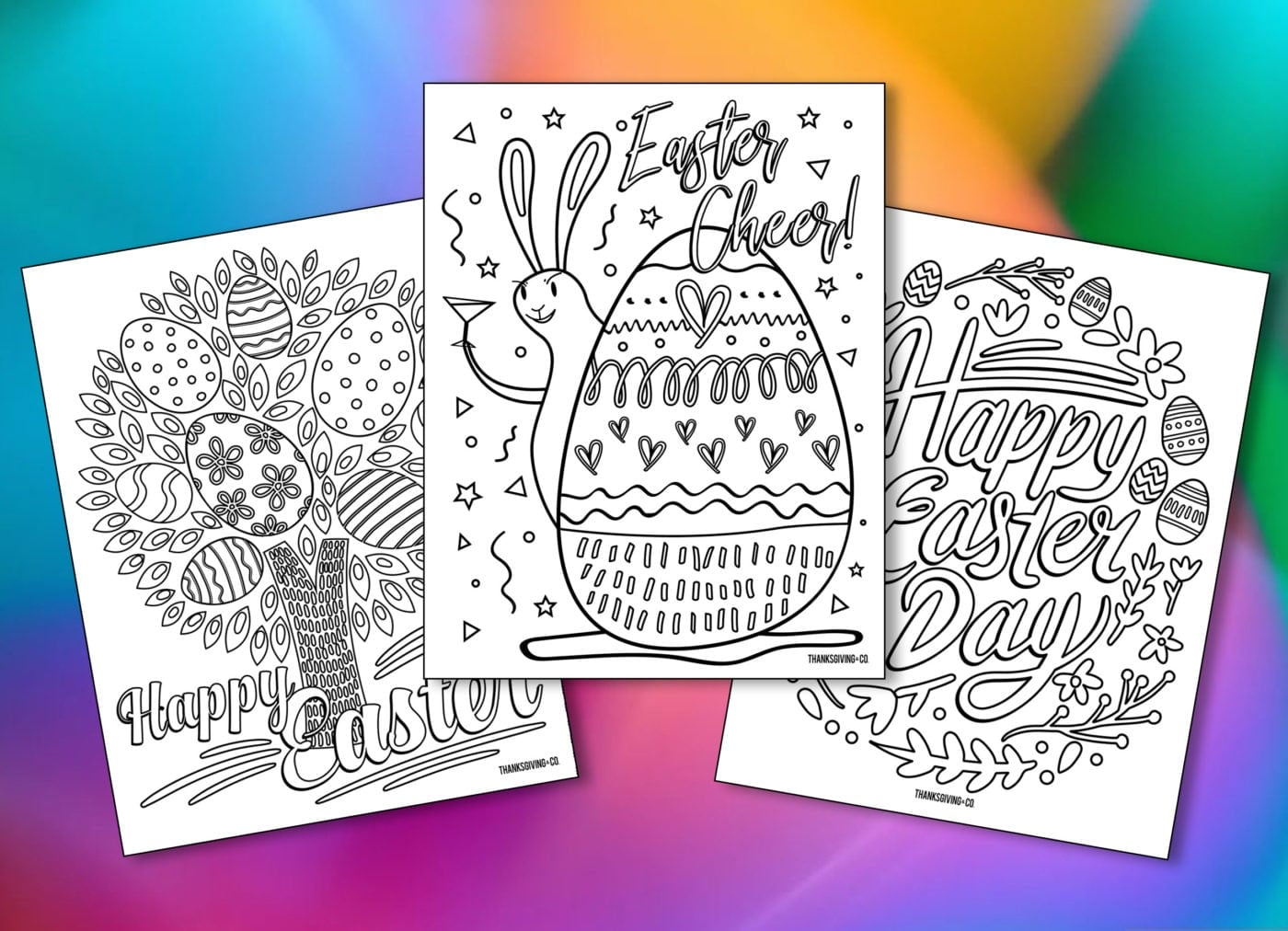 Free Printable Easter Coloring Pages For Adults - Coloring Pages ...   1012x1400