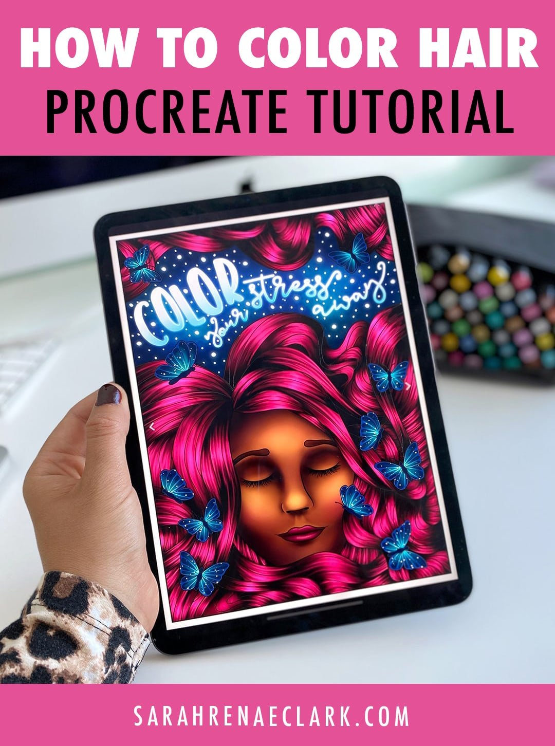 Procreate-coloring-page - Sarah Renae Clark - Coloring ...
