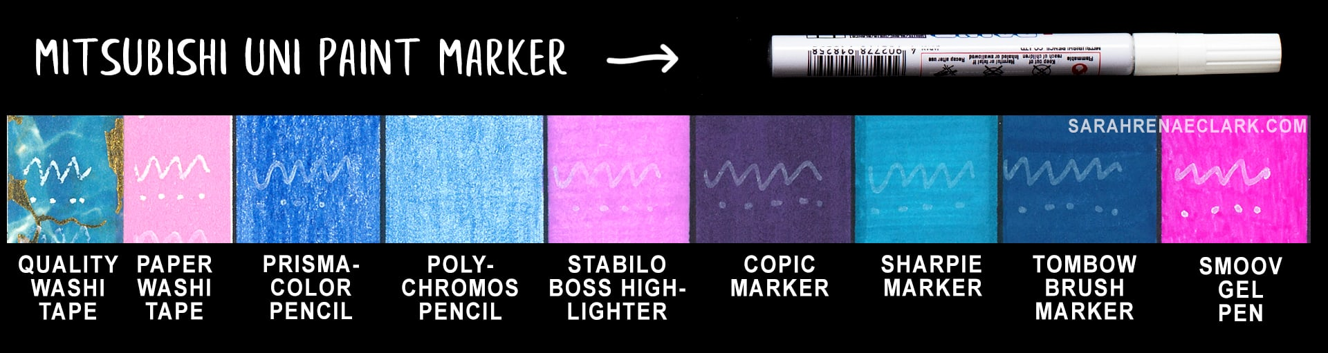 Mistubishi Uni Paint Marker Review